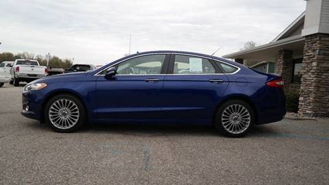 2015 Ford Fusion for sale at Hekhuis Motorsports in Rockford MI