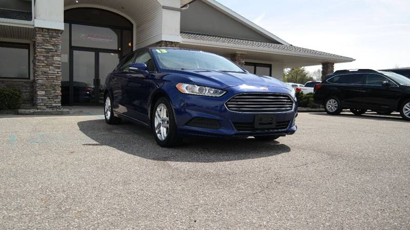 2013 Ford Fusion for sale at Hekhuis Motorsports in Rockford MI