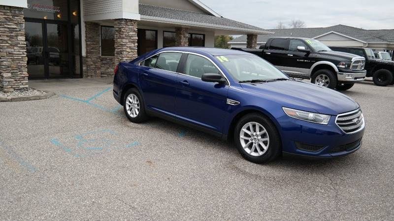 2014 Ford Taurus for sale at Hekhuis Motorsports in Rockford MI
