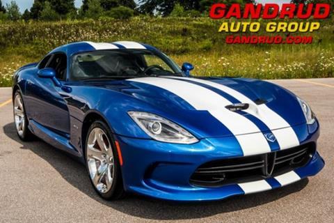 2013 Dodge SRT Viper for sale at Gandrud Dodge in Green Bay WI