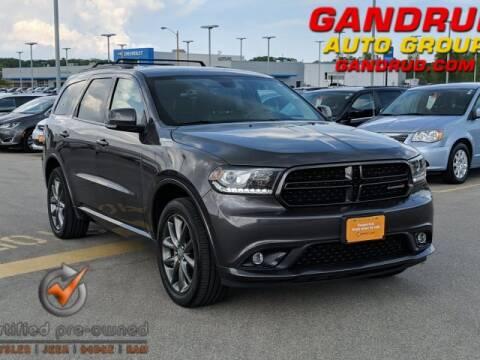 2017 Dodge Durango GT for sale at Gandrud Dodge in Green Bay WI
