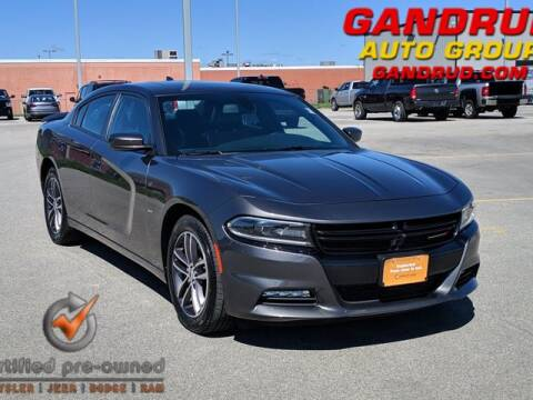 2018 Dodge Charger for sale at Gandrud Dodge in Green Bay WI