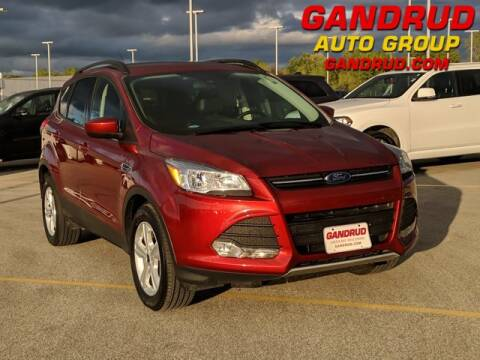 2016 Ford Escape for sale at Gandrud Dodge in Green Bay WI