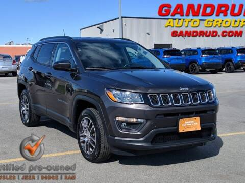 2018 Jeep Compass for sale at Gandrud Dodge in Green Bay WI