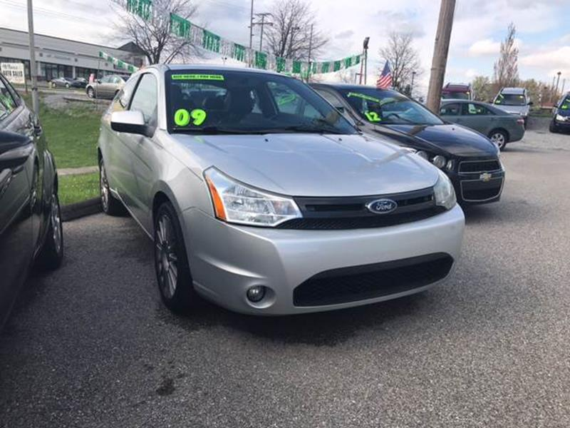 2009 Ford Focus Ses 2dr Coupe In York Pa Mcnamara Auto Sales