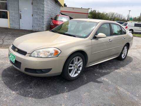 2010 Chevrolet Impala for sale at McNamara Auto Sales - Kenneth Road Lot in York PA