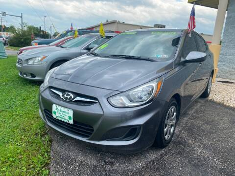 2014 Hyundai Accent for sale at McNamara Auto Sales - Kenneth Road Lot in York PA