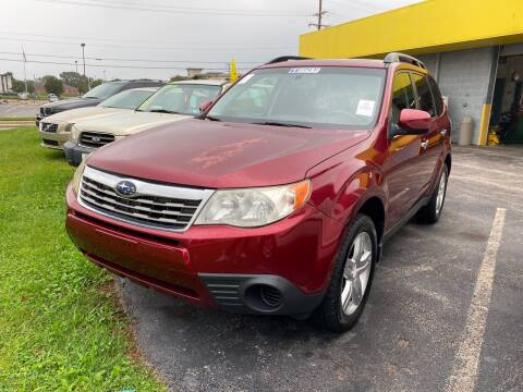 2009 Subaru Forester for sale at McNamara Auto Sales - Kenneth Road Lot in York PA