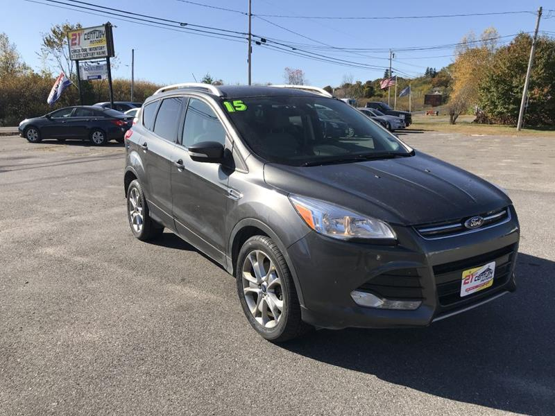 2015 Ford Escape for sale at 21ST CENTURY MOTORS in Gorham ME