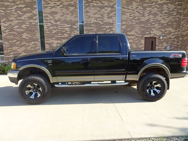 2003 Ford F-150 4dr SuperCrew Lariat 4WD Styleside SB - Clarence IA