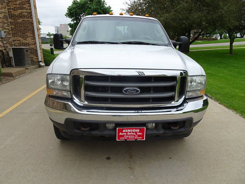 2004 Ford F-350 Super Duty 4dr Crew Cab Lariat 4WD SB DRW - Clarence IA