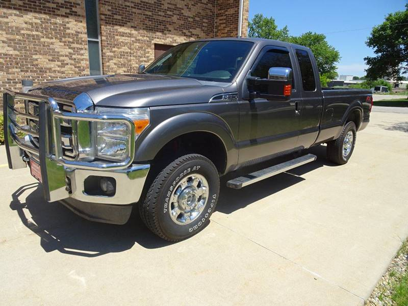 2012 Ford F-250 Super Duty 4x4 Lariat 4dr SuperCab 8 ft. LB Pickup - Clarence IA