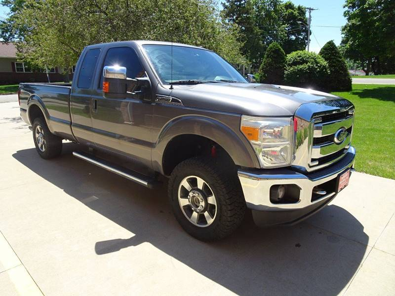 2011 Ford F-250 Super Duty 4x4 Lariat 4dr SuperCab 8 ft. LB Pickup - Clarence IA