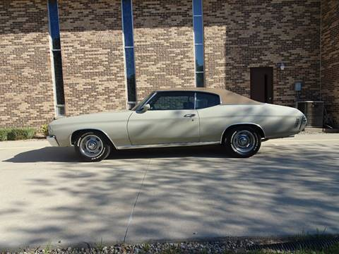 1971 Chevrolet Chevelle Malibu for sale in Clarence, IA