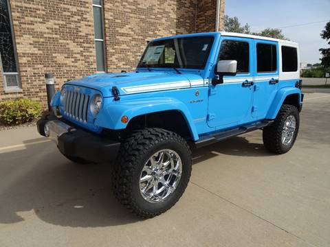 2017 Jeep Wrangler Unlimited for sale in Clarence, IA