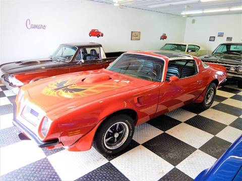 1975 Pontiac Firebird Trans Am for sale in Clarence, IA