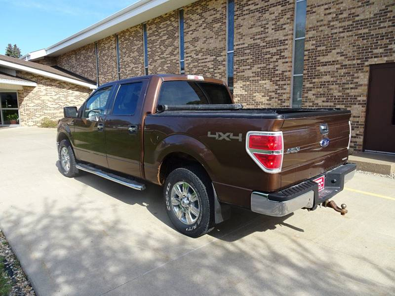 2011 Ford F-150 4x4 XLT 4dr SuperCrew Styleside 5.5 ft. SB - Clarence IA