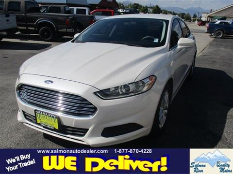 2014 Ford Fusion for sale in Salmon, ID