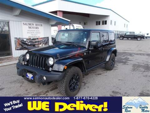 2016 Jeep Wrangler Unlimited for sale at QUALITY MOTORS in Salmon ID