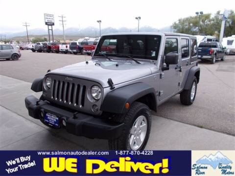 2018 Jeep Wrangler JK Unlimited for sale at QUALITY MOTORS in Salmon ID