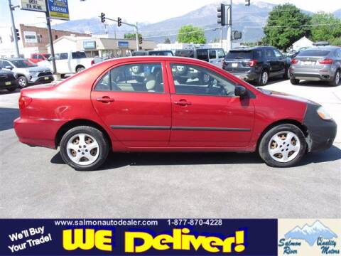 2005 Toyota Corolla for sale at QUALITY MOTORS in Salmon ID