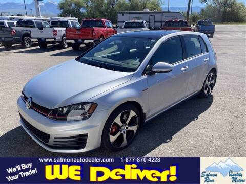 2017 Volkswagen Golf GTI for sale at QUALITY MOTORS in Salmon ID