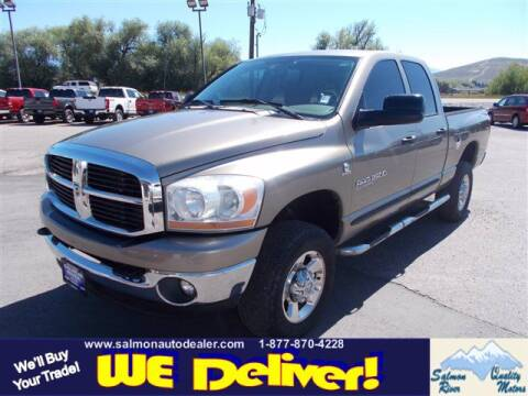 2006 Dodge Ram Pickup 2500 for sale at QUALITY MOTORS in Salmon ID