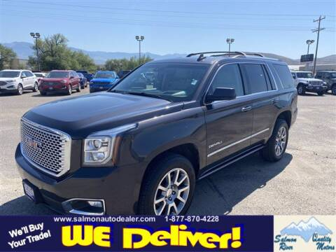 2017 GMC Yukon for sale at QUALITY MOTORS in Salmon ID
