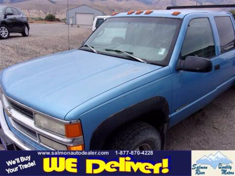 1996 Chevrolet C/K 3500 Series for sale at QUALITY MOTORS in Salmon ID