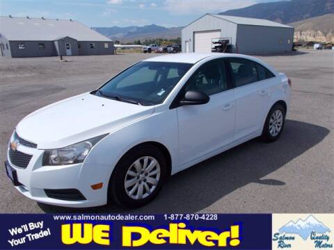 2011 Chevrolet Cruze for sale at QUALITY MOTORS in Salmon ID