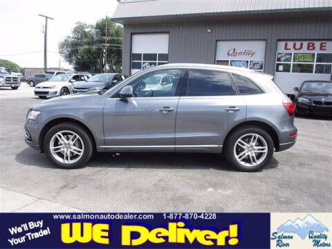 2016 Audi Q5 for sale at QUALITY MOTORS in Salmon ID