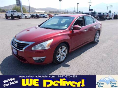 2013 Nissan Altima for sale at QUALITY MOTORS in Salmon ID