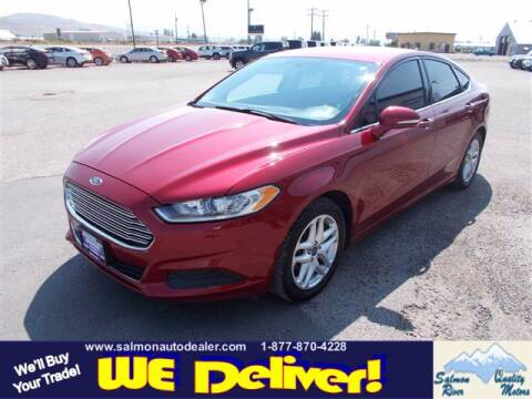 2014 Ford Fusion for sale at QUALITY MOTORS in Salmon ID