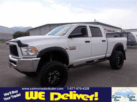 2015 RAM Ram Pickup 2500 for sale at QUALITY MOTORS in Salmon ID