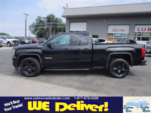 2017 GMC Sierra 1500 for sale at QUALITY MOTORS in Salmon ID
