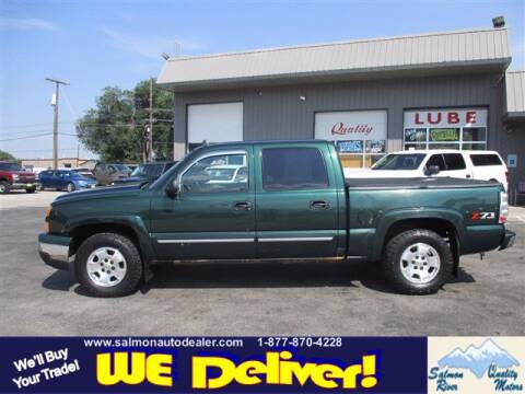 2006 Chevrolet Silverado 1500 for sale at QUALITY MOTORS in Salmon ID