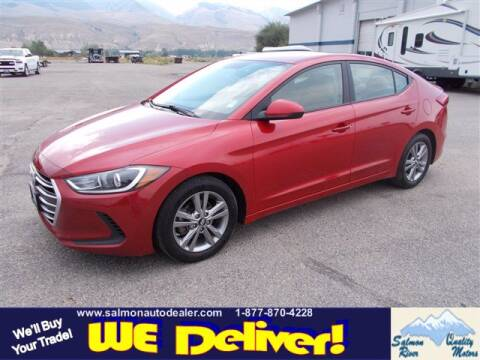 2017 Hyundai Elantra for sale at QUALITY MOTORS in Salmon ID
