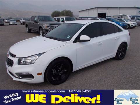 2015 Chevrolet Cruze for sale at QUALITY MOTORS in Salmon ID