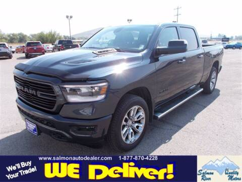 2019 RAM 1500 Laramie Sport crew for sale at QUALITY MOTORS in Salmon ID