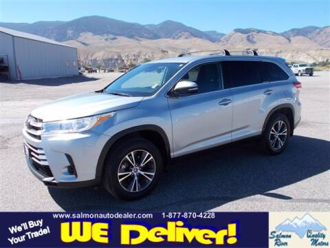 2019 Toyota Highlander for sale at QUALITY MOTORS in Salmon ID