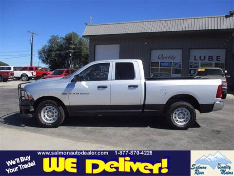2011 RAM Ram Pickup 1500 for sale at QUALITY MOTORS in Salmon ID