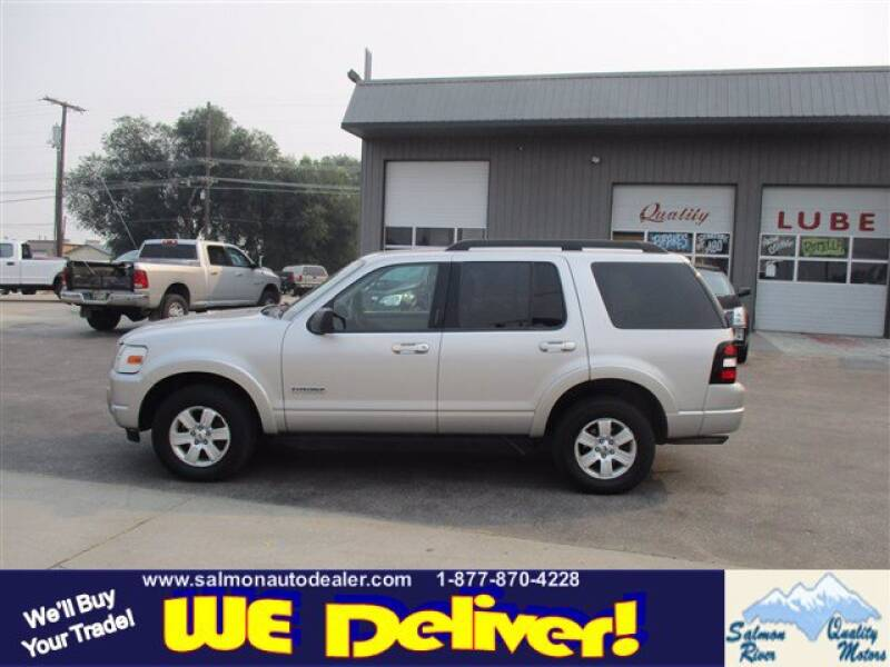 2008 Ford Explorer for sale at QUALITY MOTORS in Salmon ID