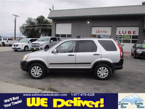 2006 Honda CR-V for sale at QUALITY MOTORS in Salmon ID