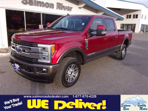 2019 Ford F-250 Super Duty for sale at QUALITY MOTORS in Salmon ID