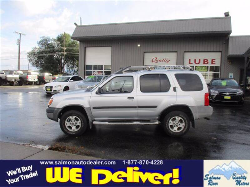 2000 Nissan Xterra for sale at QUALITY MOTORS in Salmon ID