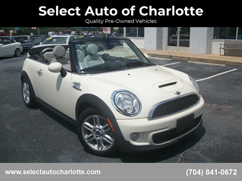 Mini Cooper Las Vegas >> 2012 Mini Cooper Convertible For Sale In Matthews Nc