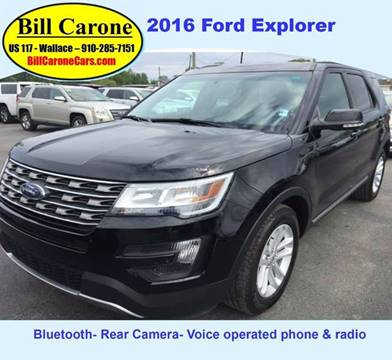 2016 Ford Explorer for sale in Wallace, NC