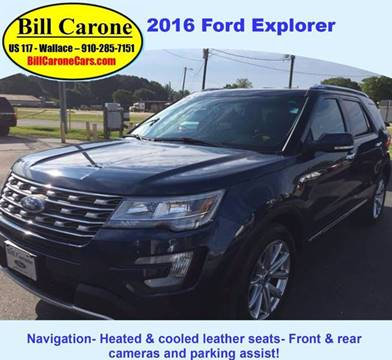 2016 Ford Explorer for sale in Wallace NC & Used Ford Explorer For Sale in Columbus MS - Carsforsale.com markmcfarlin.com