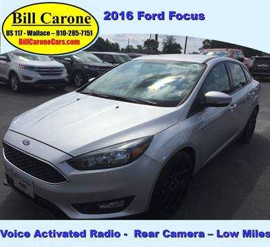 2016 Ford Focus for sale in Wallace, NC