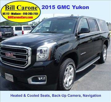 2015 GMC Yukon XL for sale in Wallace, NC